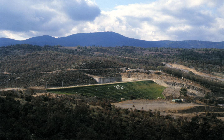 Büyükorhan Barajı İnşaatı