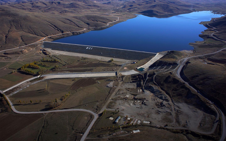 Demirözü Barajı İnşaatı
