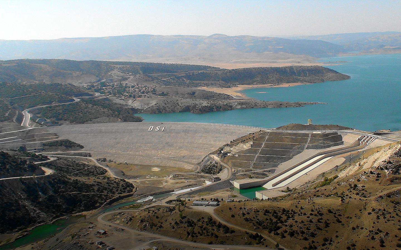 Çekerek (Süreyyabey) Barajı İnşaatı