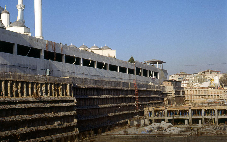 Ankara Kocatepe Yeraltı Otoparkı, Kültür ve Spor Tesisleri