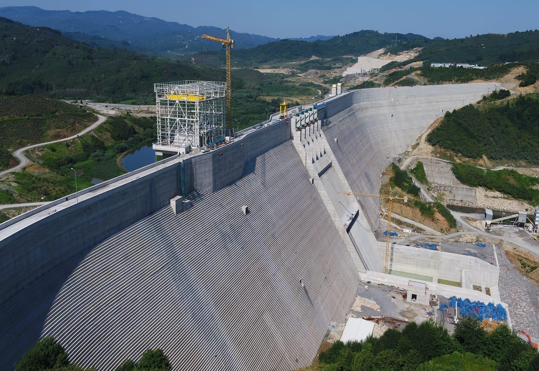Melen Barajı İnşaatı